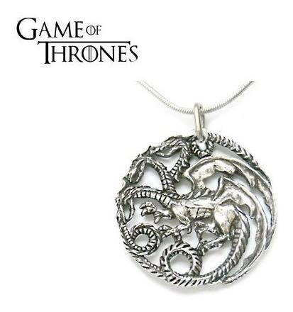 Corrente Game Of Thrones 3 Opções- Pronta Entrega