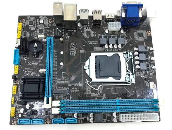 Placa Mãe Chipset H110m Ddr4 Usb3.0 Lga1151