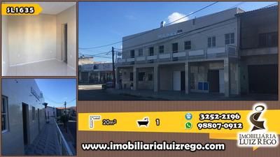Sl1636- Aluga Sala Comercial Na Aerolândia, 20m2