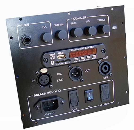 Kit Dclass Ativação Caixas Multivias C/ Usb 700 Watts Rms