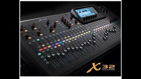 Mesa Digital X32 Full Behringer Original Nfe