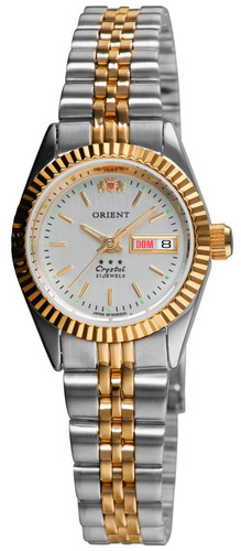 Relógio Orient Feminino Automático 559eb3x B1sk Misto Oferta