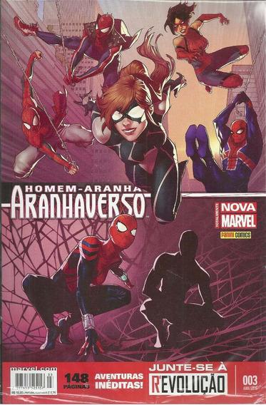 Homem-aranha Aranhaverso 03 - Panini 3 - Bonellihq Cx311 E18
