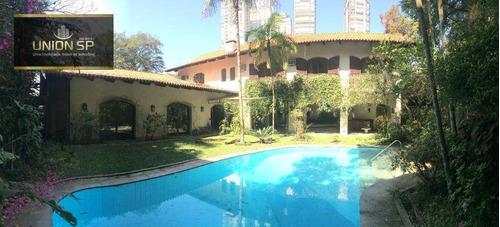 Imagem 1 de 29 de Casa Com 4 Dormitórios À Venda, 727 M² Por R$ 3.400.000 - Morumbi - São Paulo/sp - Ca1861