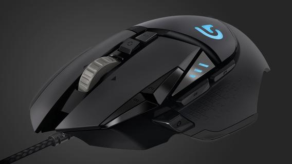 Logitech G502 Proteus Spectrum Gamer Rgb + Mouse Bungee Tucano Gfallen