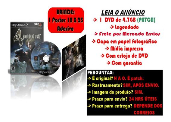 Resident Evil 4 Legendado Em Português Para Ps2