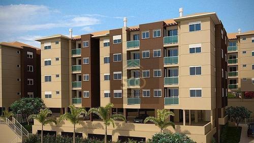 Ap0184 - Apartamento Com 1 Dormitório À Venda, 45 M² - Centro - São José/sc - Ap0184