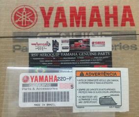 Etiqueta Advertencia Tanque Xt 660r Original Yamaha 0km