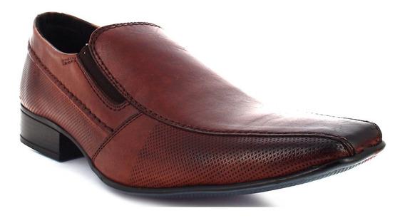 Mocasín Triples Piel 27 Mx Zapato Formal Vestir Elegante