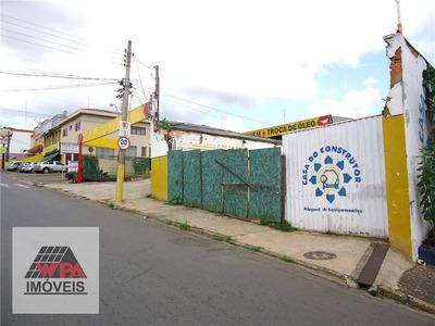Terreno Comercial À Venda, Jardim Colina, Americana. - Te0158