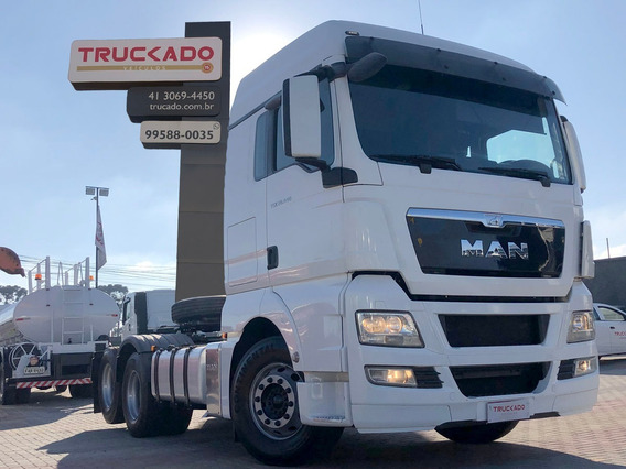 Man Tgx 28440 2017 Cavalo Truck 6x2 Teto Alto=33440 Fh 440