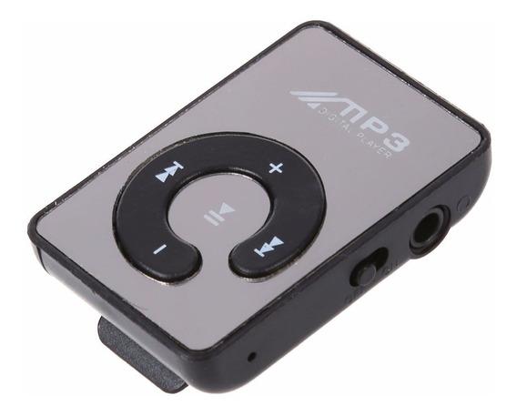 Mini Mp3 Player Mocute + Cabo Usb (suporta Cartão De 8gb)