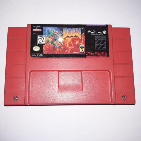 Doom Original Relabel Para Super Nintendo