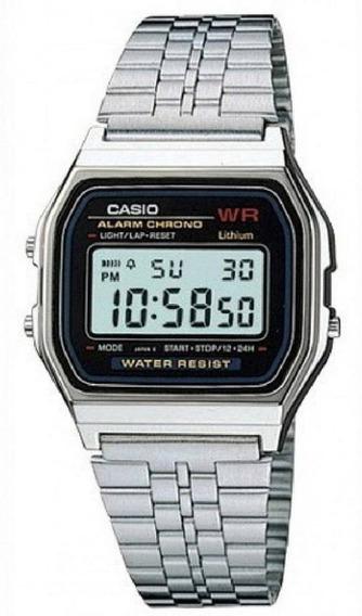Relógio Casio Unissex Vintage A159wa N1df Digital Original