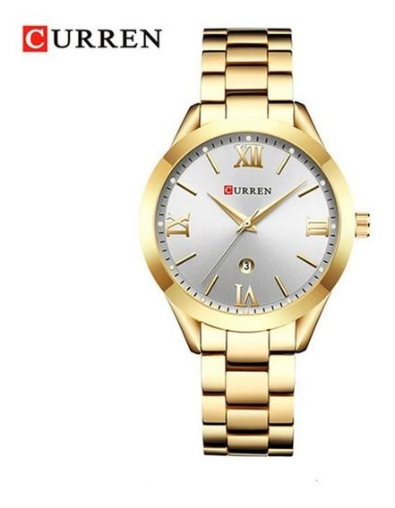 Relógio Feminino Resistente A Água Aço Inoxidável Promoção