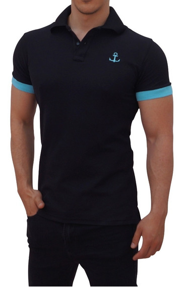 Playeras Polo John Leopard Ajuste Muscle Fit Unisex