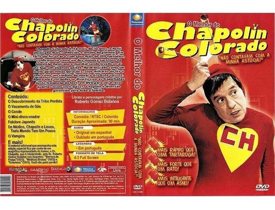 Dvd O Melhor Do Chapolin Colorado Usado