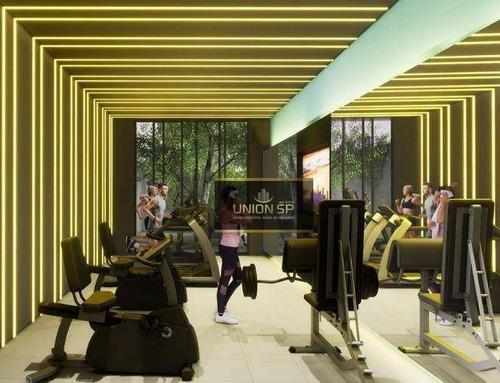 Imagem 1 de 7 de Studio Com 1 Dormitório À Venda, 32 M² Por R$ 530.643,00 - Consolação - São Paulo/sp - St1014