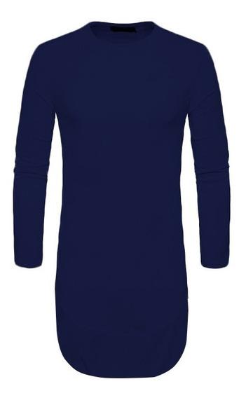 Camiseta Camisa Oversized Longline Maculina Ny Kings Top