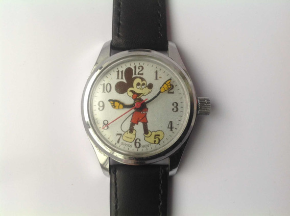 Reloj Pulsera Disney Dama O Niño Cuerda Suiza 70