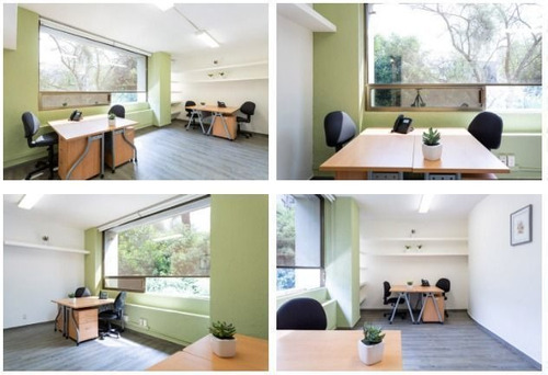 Imagen 1 de 9 de Oficina Amueblada En Renta En Centro De Negocios 16.5m2 , $1