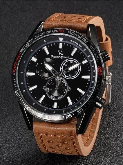Relógio Esportivo Analógico V6 Super Speed 0270