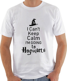 Camiseta Infantil Masculina Feminina Keep Calm Hogwarts1047