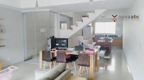 Imagem 1 de 11 de Sobrado Com 3 Dormitórios À Venda, 172 M² Por R$ 520.000,00 - Vila Curuçá - Santo André/sp - So1071