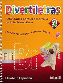 Libro Divertiletras 3 Actividades Para El Desarrollo Trillas
