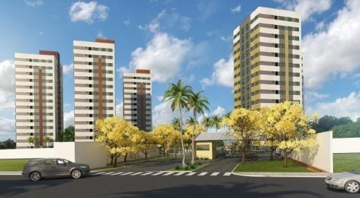 Apartamento Para Venda Em Natal, Pitimbu, 1 Dormitório, 1 Banheiro, 1 Vaga - Viver Bem 1q