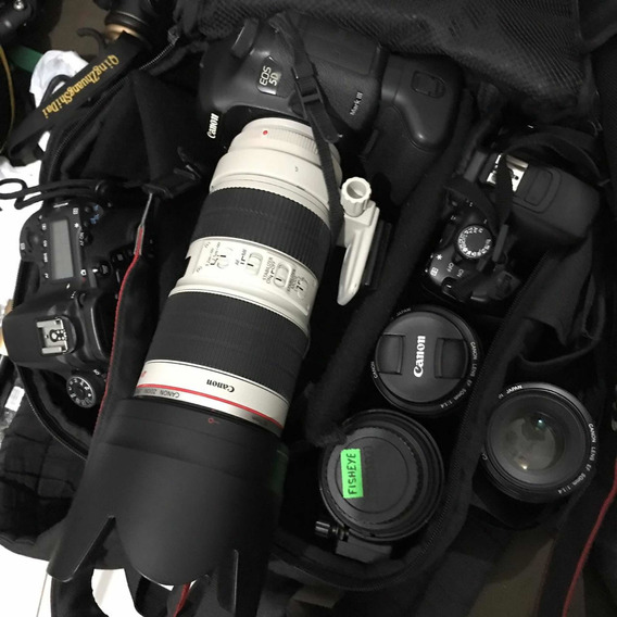 Lente Ef 70-200mm F/2.8l Is Ii Usm Usada