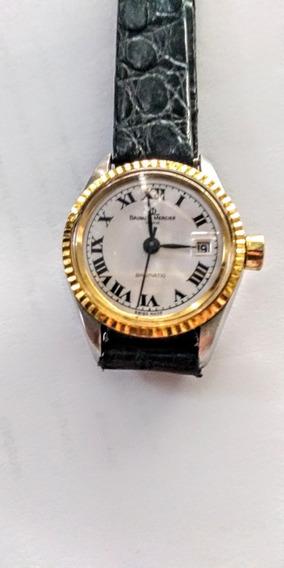 Baume & Mercier Antigo Relógio Suíço Feminino Automático