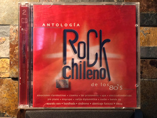 Cd Doble Antologia Rock Chileno De Los