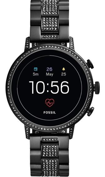 Reloj Dama Smartwatch Fossil Gen 4 Venture - Negro