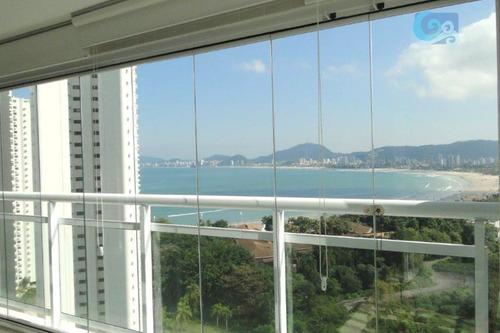 Imagem 1 de 30 de Apartamento Venda E Locação - Praia Da Enseada - Guarujá - Ap4382