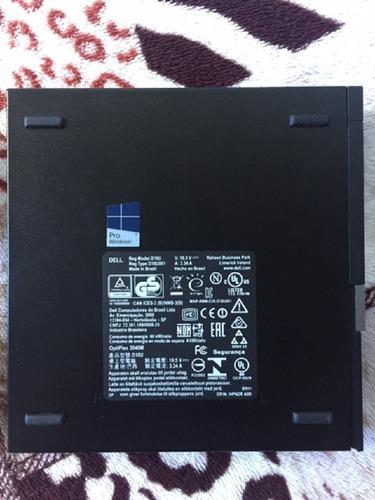 Mini Dell Optiplex 3040 I5 8gb 240gb Ssd