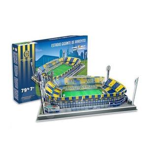 Maqueta Estadio Rosario Central 32x25 Cm 3d P/ Armar - Luico