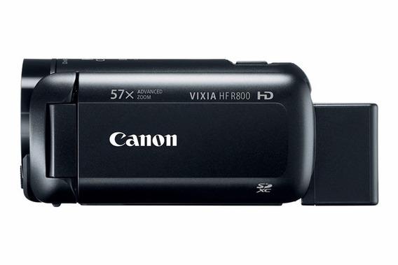 Filmadora Canon Vixia Hf R800 Zoom 57x Full Hd + Cartão 16gb