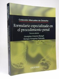 Formulario Especializado En El Procedimiento Penal E6r