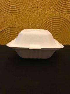 Contenedor Tipo Hamburguesero Biodegradable