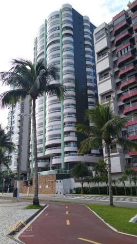 Imagem 1 de 19 de Apartamento Com 3 Dormitórios À Venda, 203 M² Por R$ 2.100.000,00 - Canto Do Forte - Praia Grande/sp - Ap2705