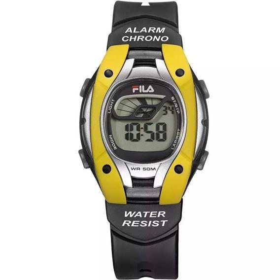 Relógio Unissex Fila Digital Esportivo Fl457-01