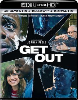 Get Out 4k Ultra Hd + Blu-ray Nuevo Original Importado