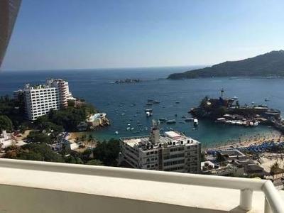 Rento Departamento En Acapulco Frente A Caleta Amueblado