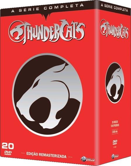 Thundercats - A Série Completa - Box Com 20 Dvds - Novo