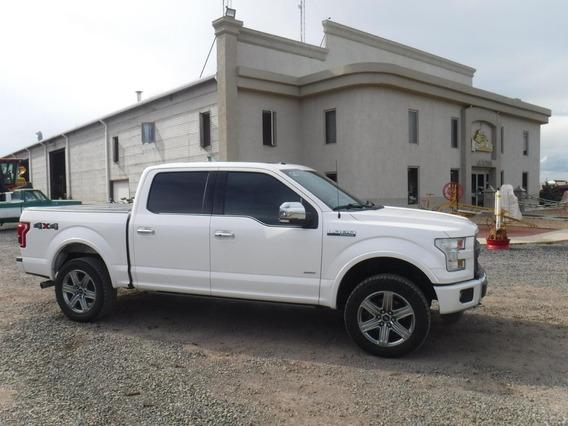 Ford Lobo Platimun 2016 3.5lts 6 Cil