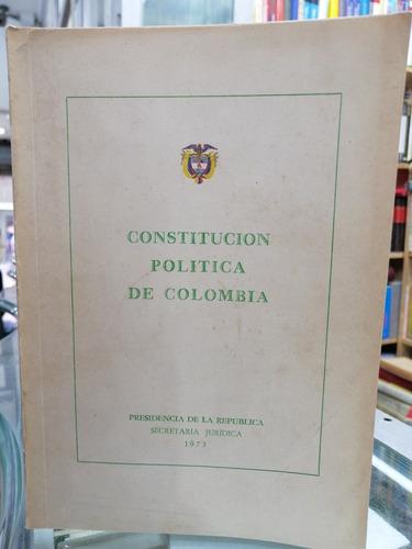 Constitución Política De Colombia 1886