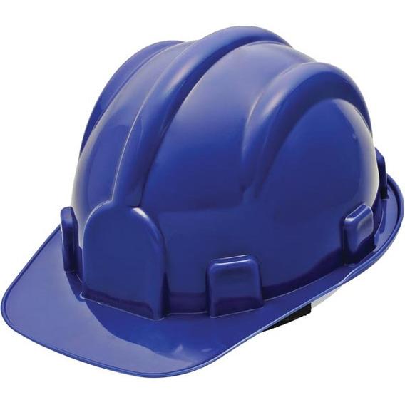 Capacete Aba Frontal Segurança Classe Ab Azul Delta Plus