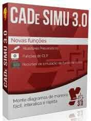 Cade Simu 3.0 Português Simulador Comando Eletrico Diagramas