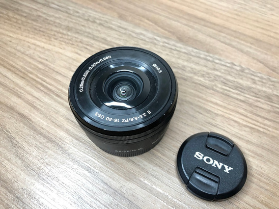 Lente Sony E Pz 16-50mm F/3.5-5.6 Oss